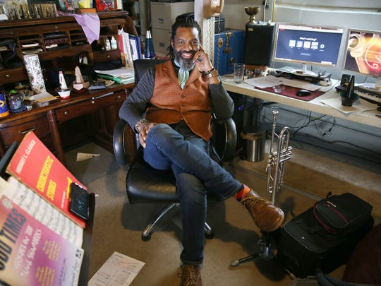 Herb Smith in his office